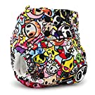 Kanga Care Rumparooz Cloth Pocket Diaper Snap, Tokijoy/Multi, One Size