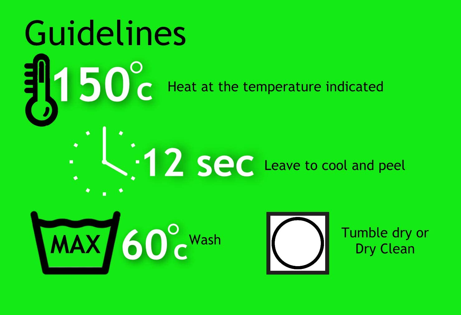 EasyTime UKTM Vinilo de transferencia de calor para planchar, para ...