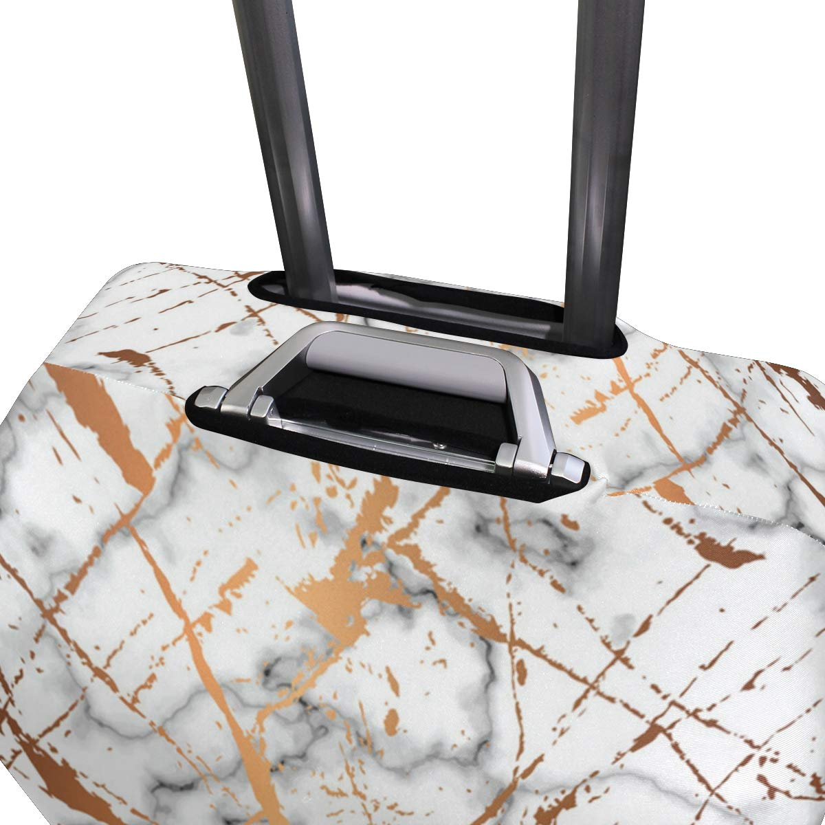 Broken Marble Pattern Traveler Lightweight Rotating Luggage Cover Can Carry With You Can Expand Travel Bag Trolley Rolling Luggage Cover