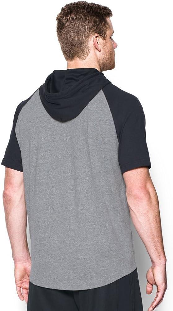 Under Armour Mens Sportstyle Short Sleeve Hoodie