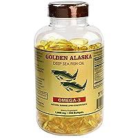 Omega 3 Alaska Deep Sea Fish Oil 1000mg 200 Softgels