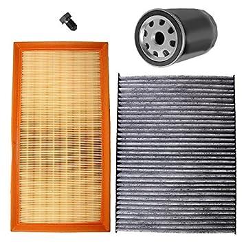 Paquete para inspección: 1x Filtro de aire 1x Filtro de ...