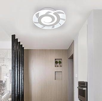 fgsgz deckenleuchten wohnzimmer schlafzimmer flur garderobe led balkon ultra thin schnecken durchmesser 20cm weies licht 12w