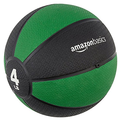 AmazonBasics Medicine Ball, 4-Pounds