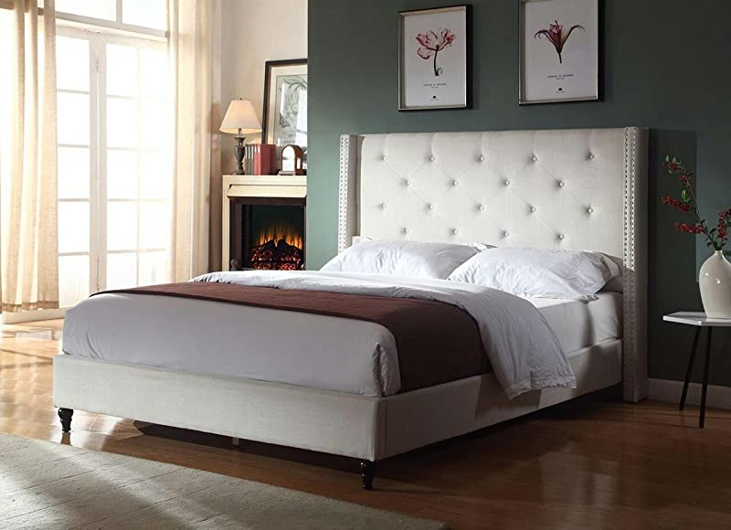 Home Life Premiere Classics Cloth Platform Bed