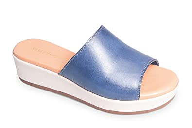 Valleverde Damen Clogs & Pantoletten, Blau - Blau - Größe: 35 EU