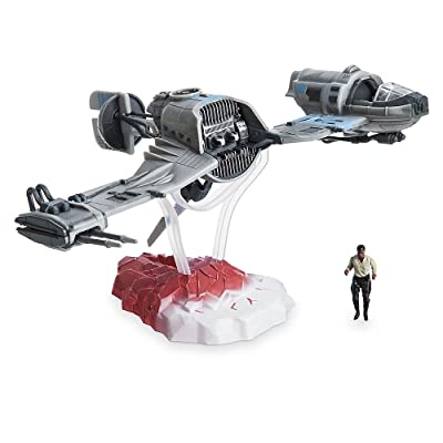 Star Wars Finn & Ski Speeder Set The Last Jedi: Toys & Games