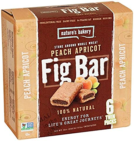 Nature's Bakery Whole Wheat Fig Bars - Peach Apricot - 6 ct - Bar Apricot