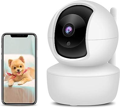 Opinión sobre XYFANG 3MP Cámara IP WiFi,Cámara Vigilancia WiFi interior con Visión Nocturna,Detección de Movimiento,Audio de 2 Vías, 2.4GHz WiFi, Compatible con iOS/Android,para Bebés/Ancianos/Mascotas