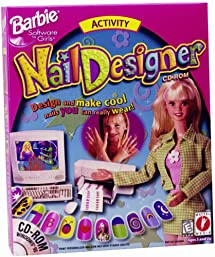 Amazon barbie nail designer pc video games barbie nail designer pc prinsesfo Gallery