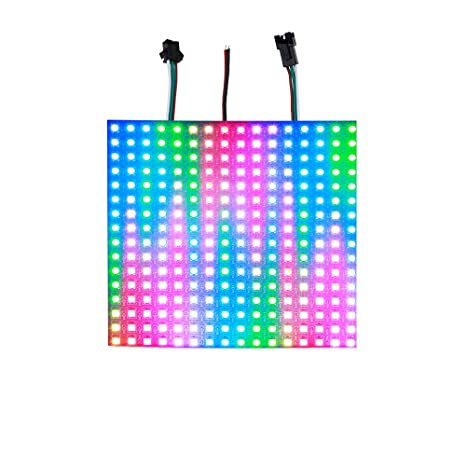 ALITOVE WS2812B Individually Addressable RGB LED Flexible Panel