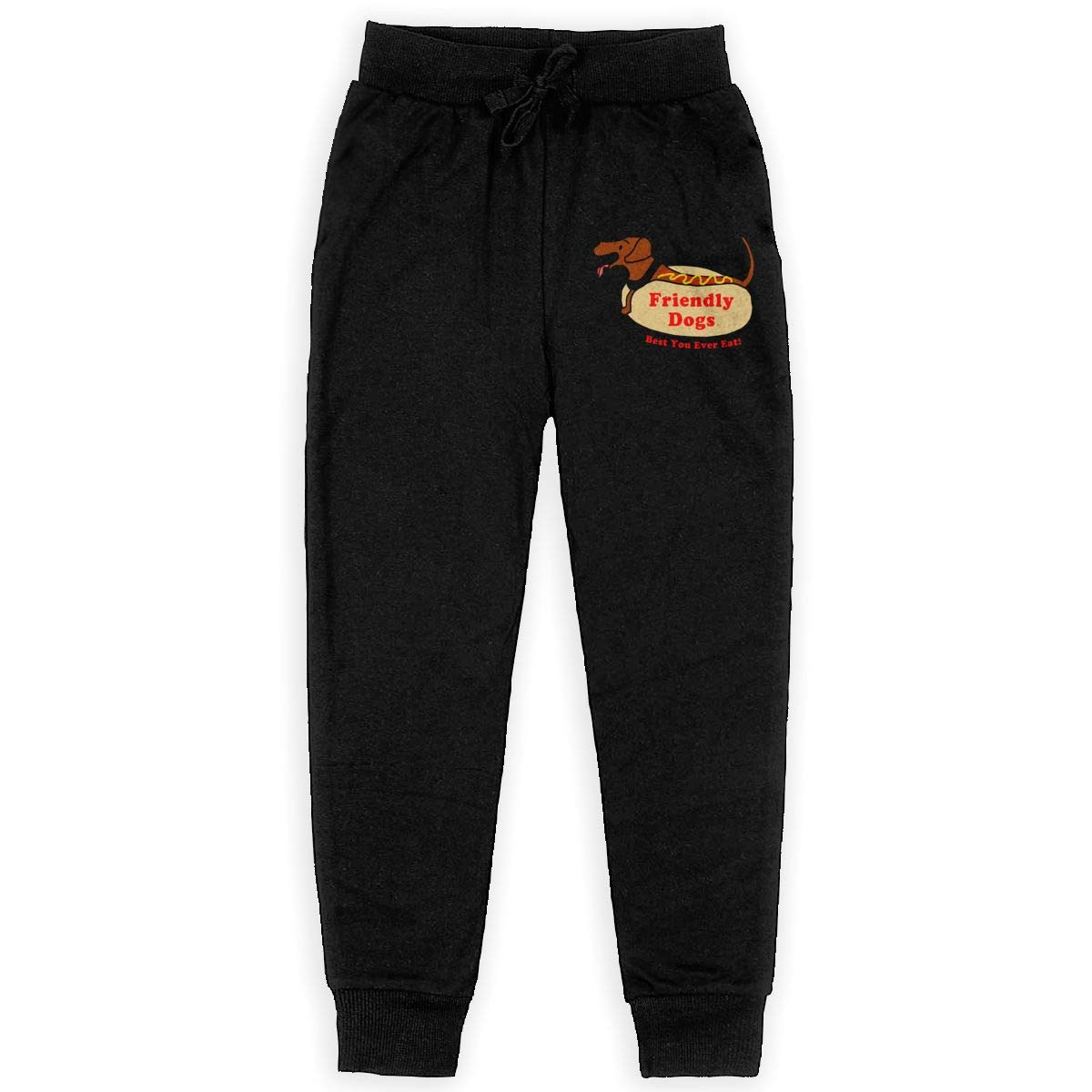 IufnNRJndfu Friendly Dogs Boys Athletic Smart Fleece Pant Youth Soft and Cozy Sweatpants