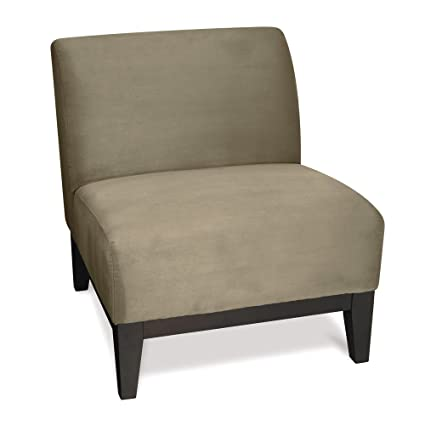 Simple Armless Accent Chair Model