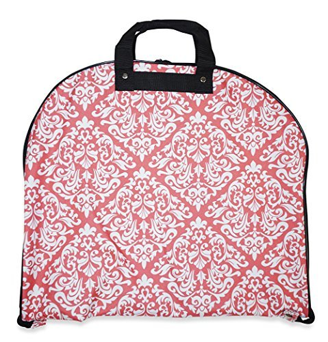 Bi Fold Garment Bag (Ever Moda Damask Hanging Garment Bag)