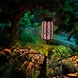 Maggift 2 Pack 10.6 Inch Hanging Solar Lights