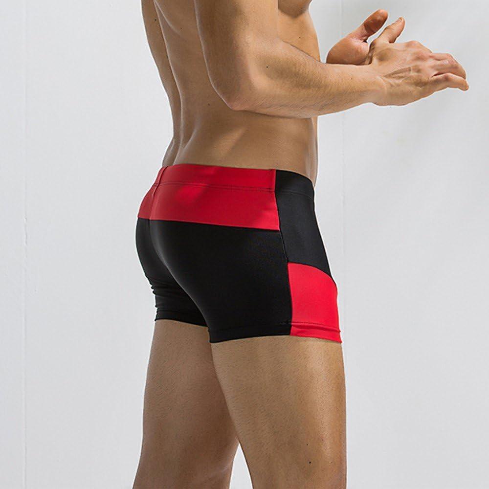 Mens Compression Trunk Summer Slim Fit Swim Trunks Casual Swim Bikini Pants Zulmuliu