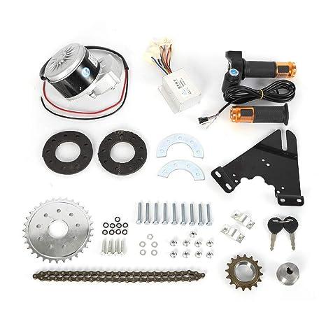 SHZICMY - Kit de Motor para Bicicleta eléctrica (250 W, 24 V ...