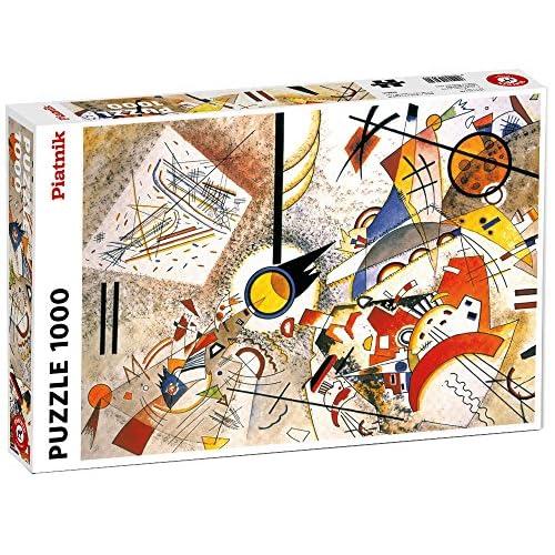 Piatnik 5396.0 - Puzzle Kandinsky - Bustling Aquarelle - 1000 Pièces