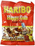Haribo Gummi Candy, Happy-Cola, 5-Ounce Bag