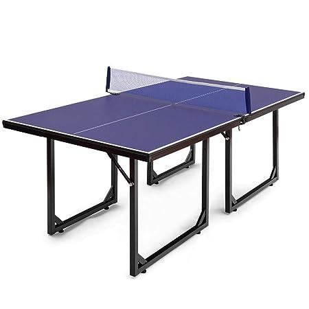 Goplus Plegable de Ping-Pong, el 99% Premontado Multi-Uso de ...