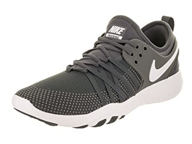 Nike Women s Free TR 7 Training Shoes-Dark Grey White-6 d4c65db05