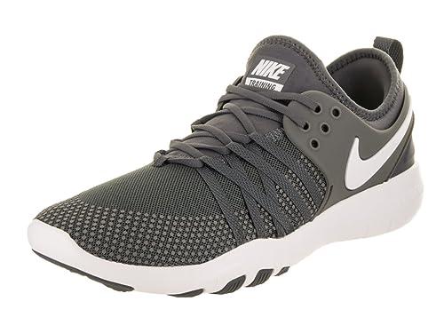 huge discount 6e5ec 24acf Nike Women s Free Tr 7 Dark Grey White Training Shoe 8 Women US  Amazon.in   Shoes   Handbags