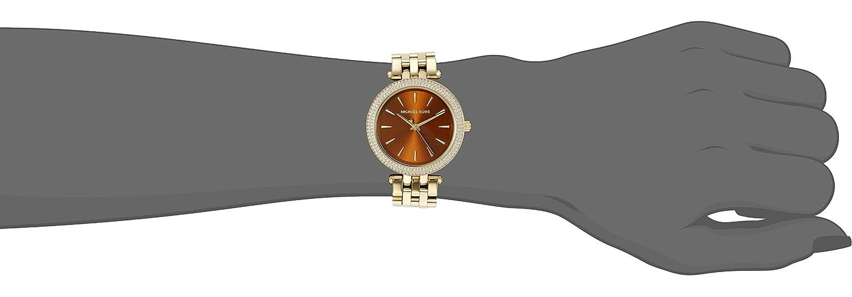 daad75455a6d Amazon.com  Michael Kors Women s Mini Darci Gold-Tone Watch MK3408  Michael  Kors  Watches