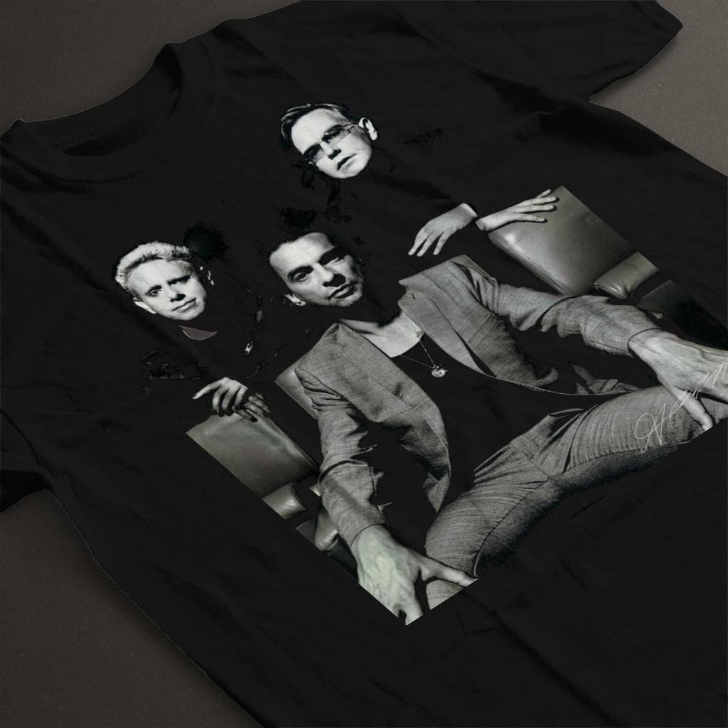 Depeche Mode Band Mens T-Shirt Andrew Cotterill Official Photography
