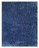 Mohawk Home Cut To Fit Royale Velvet Plush Bath Carpet, City Blue, 5 by 6 Feet