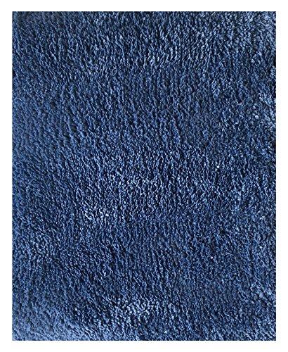 - Mohawk Home Cut To Fit Royale Velvet Plush Bath Carpet, City Blue, 6 by 10 Feet