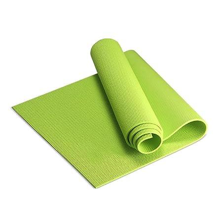 LQBDJYJD - Esterilla de Yoga (8 mm, PVC, Antideslizante ...