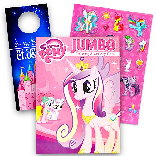 My Little Pony Coloring Book And Stickers Super Set Bundle My Little