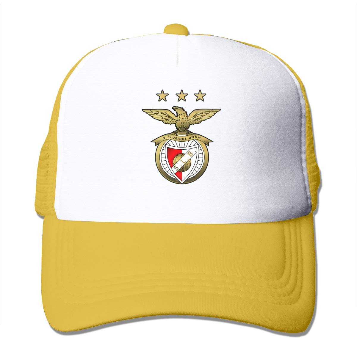 Mesh Sports Baseball Hat Sport Lisboa Sl Benfica Adjustable Trucker Sun Caps for Men Women