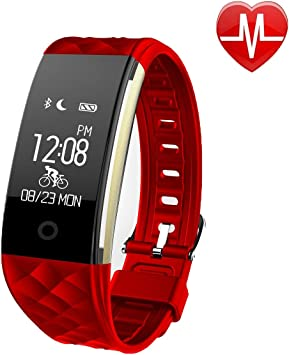Amazon.com: eoocoo pulsera inteligente, Heart Rate Monitor y ...