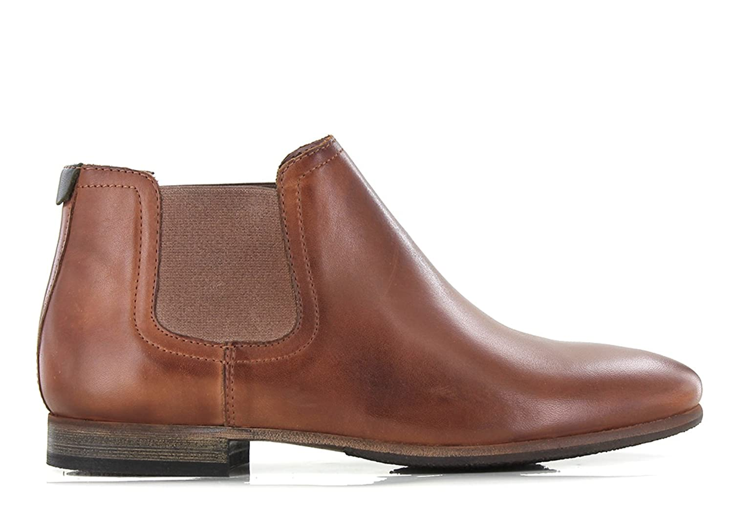 Bottines en cuir Gazetta, Marron