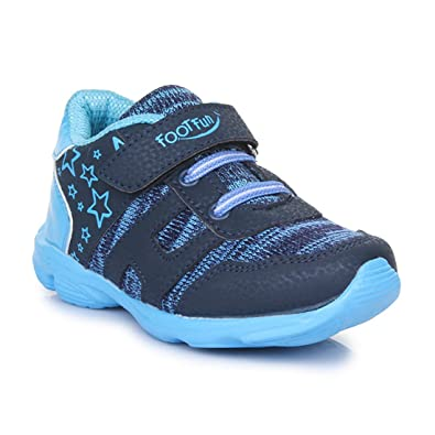 e61762a32 Liberty FOOTFUN Blue Kids Non-Leather Casual Shoes  Buy Online at Low  Prices in India - Amazon.in