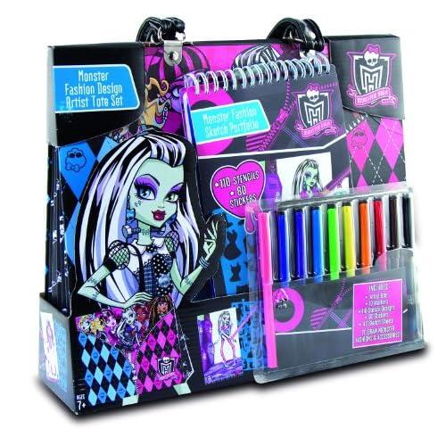 Monster High 64012 - Loisir Créatif - Portfolio - Spécial Artiste