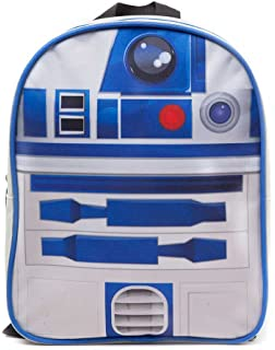 Star Wars BP091410STW R2D2 Kids Mini Backpack - Blue/ White