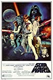 Star Wars - Episode IV New Hope - Classic Movie Poster 24 x 36in
