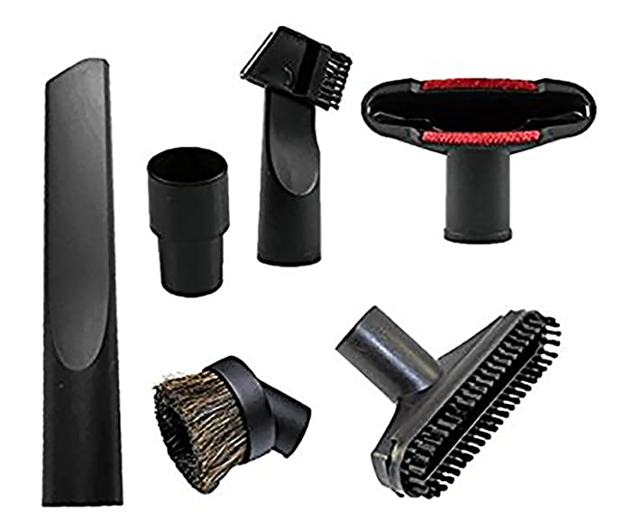 Wonlives Universal Replacement 32mm (1 1/4 inch) Vacuum Cleaner Accessories Brush Kit for Standard Hose