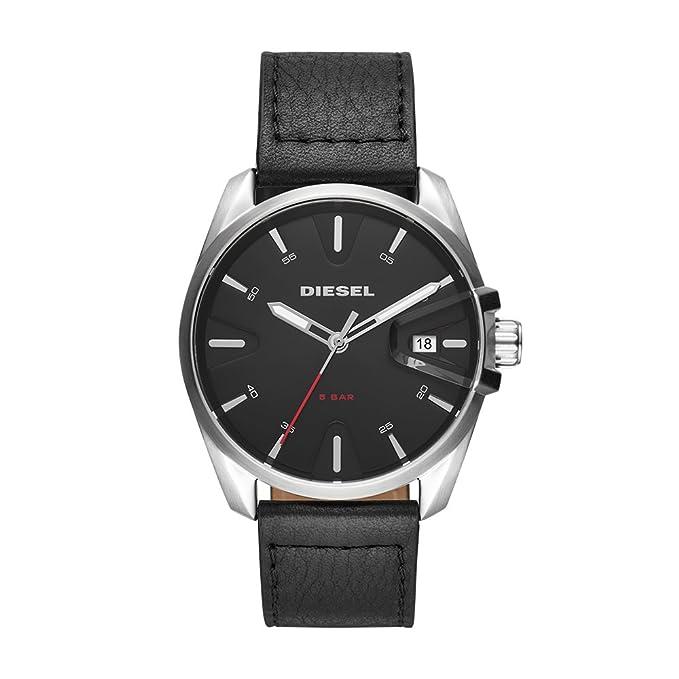 Diesel Reloj Analógico para Hombre de Cuarzo con Correa en Cuero DZ1862: Amazon.es: Relojes