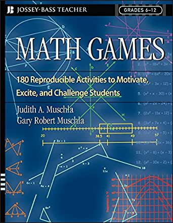Amazon.com: Math Games: 180 Reproducible Activities to Motivate ...