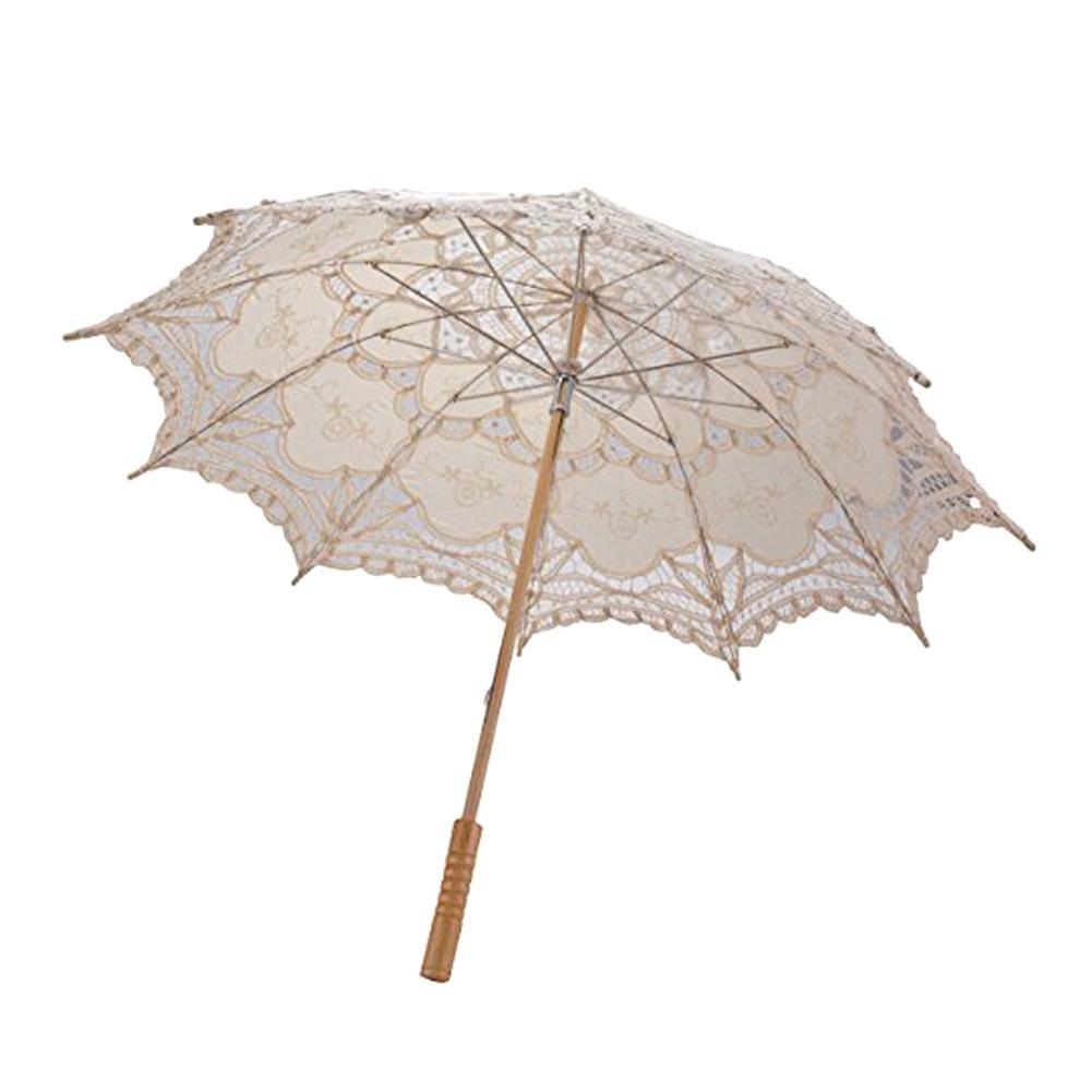 Ombrelle Dentelle Mariage Ombrelle Dentelle Blanche Noire Rose Découpe de Style Européen Parapluie Décoration Mariage Parasol en Dentelle Fait Main Parapluie Cadeau Sur Mesure Décoration de Mariage
