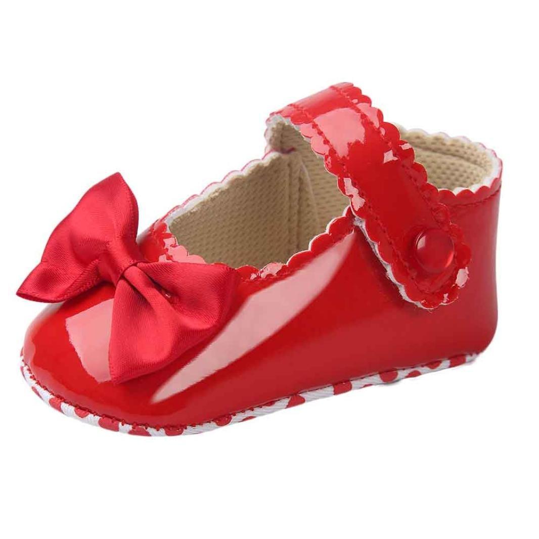 b3f0740608d1a DAY8 Chaussure Bébé Fille Princesse Chaussure Bébé Fille Premier Pas  Bapteme Bowknot Fashion Chaussures Bébé Garçon Anti Derapante Sneakers  Baskets Mode ...