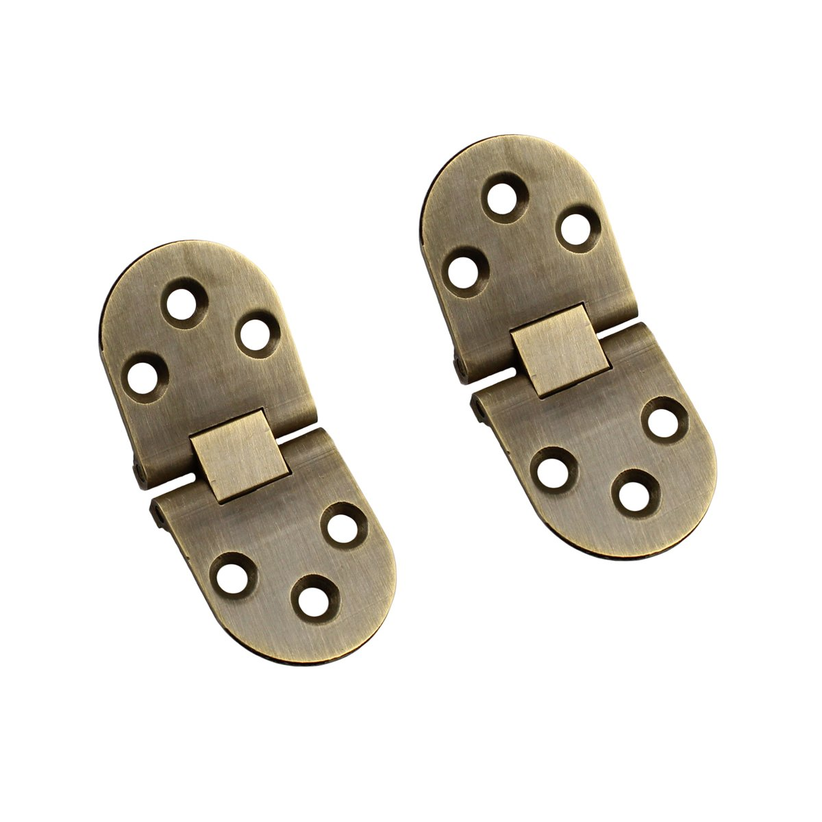 RZDEAL 2PCS Thickness Flip Top Hinges Hardware Accessory for Folding Furniture(DIY) (B)