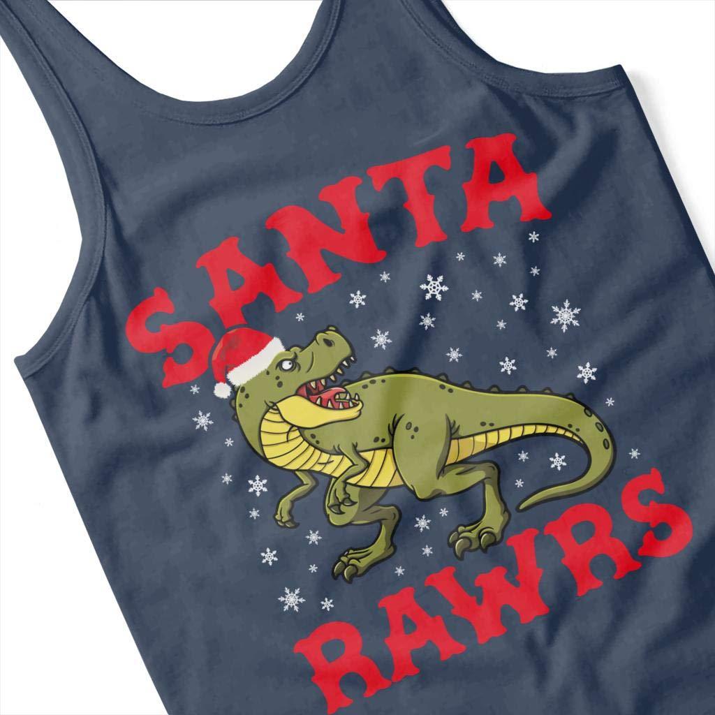 Coto7 Christmas Santa Rawrs Womens Vest