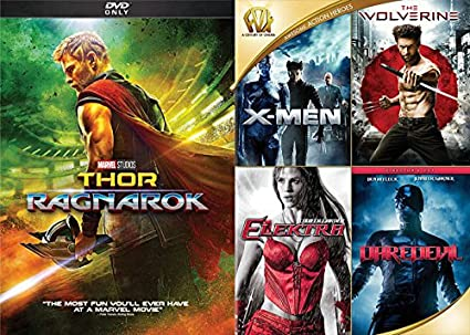 amazon com marvel super dvd moive bundle x men the wolverine