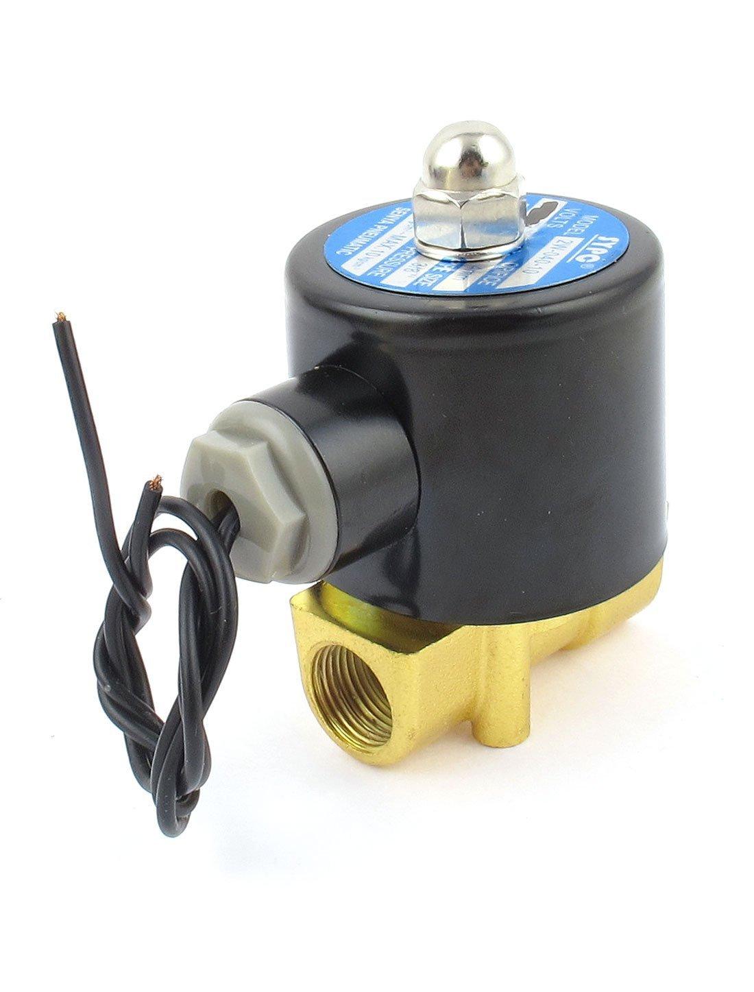 EbuyChX AC 220V 2W 3 / 8BSP Normal Isara Water Gas Oil Electric Solenoid, balbula