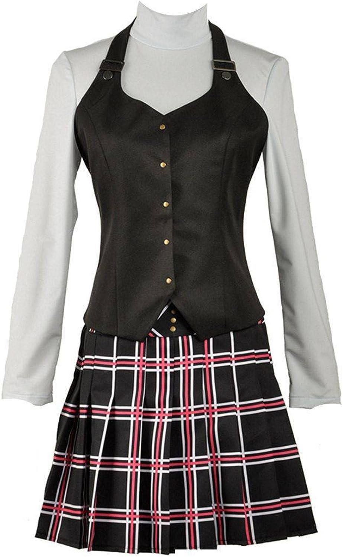 Persona 5 Makoto Niijima Queen Cosplay Costume School Uniform Shirt Shirt Vest