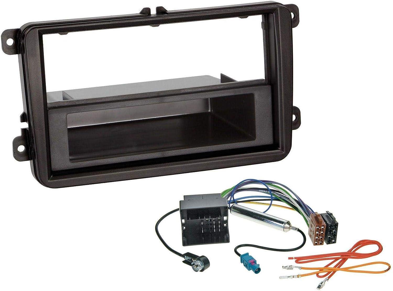 caraudio24 Pioneer DEH-S410DAB USB MP3 DAB AUX CD Autoradio f/ür Skoda Fabia Octavia Rapid Roomster